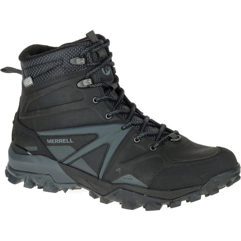 Merrell Men's Capra Glacial Ice+ Mid WP / Black