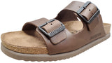 Mephisto Men's Nerio Sandal Dark Brown