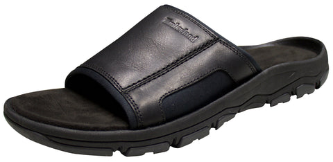 MEN'S ROSLINDALE SLIDE SANDALS Black