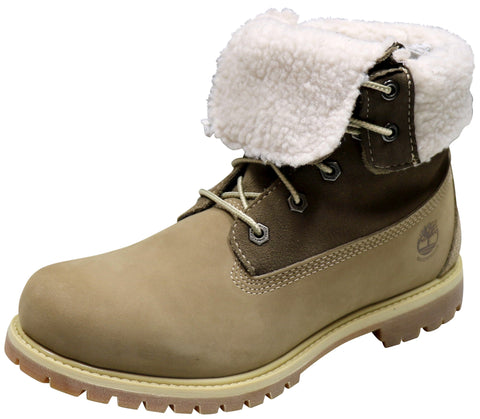 Timberland Aut Teddy Fleece Natural Brown