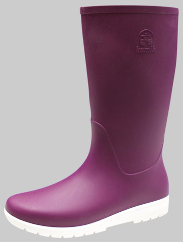 Kamik Women's Jessie Rain Boot Dark Purple