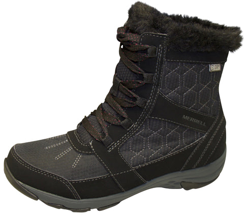 Merrell Women's Albury Mid Polar Waterproof Black