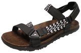 Merrell Women's Around Town Sunvue Woven Sandal Black