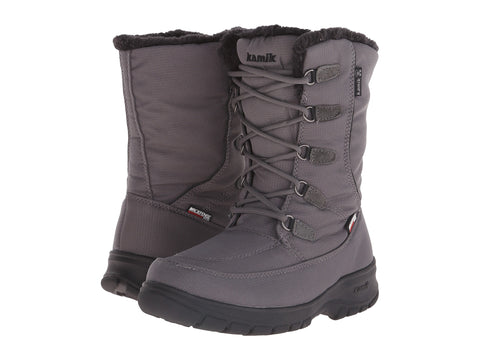 Women's Brooklyn Snow Boots Charcoal
