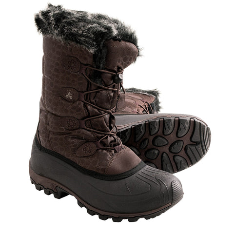 Women's Momentum Snow Boots Dark Brown