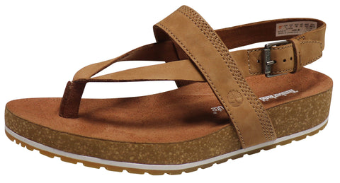 Timberland Women's Women's Malibu Waves Thong Sandal Brown