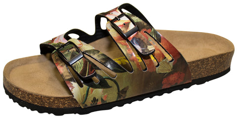 Viking Whistler Two Strap with Cutout Sandal, Garden Floral