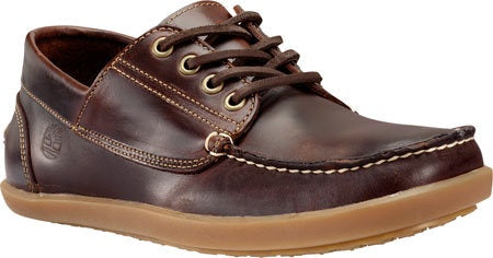 Timberland Men's Odelay 4-Eye Camp Moc Toe Shoe Burgundy