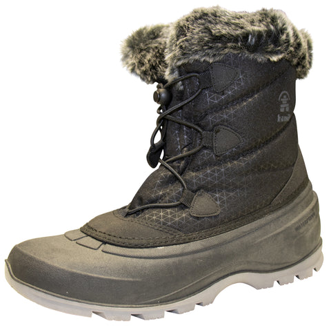 Kamik Women's MomentumLO Winter Boot Black