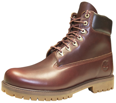 "Timberland Men's Heritage 6"" Waterproof Boot Medium Brown"