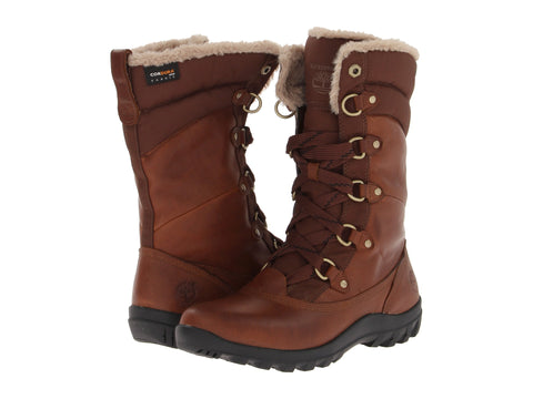 Timberland Women's Mount Hope Mid Snow Boots Dark Brown
