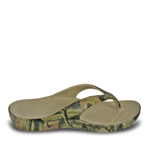 DAWGS MOSSY OAK MEN'S FLIP FLOP - BREAKUP INFINITY