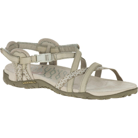 Merrell Women's Terran Lattice II Sandale Taupe