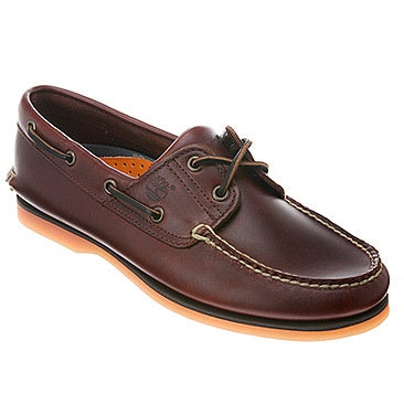 Timberland Men's Boat Shoes Rootbeer/Brown