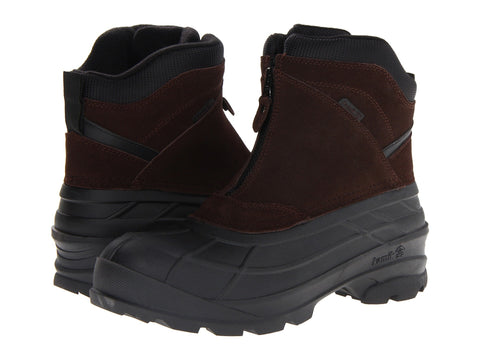 Kamik Men's Champlain Snow Boots Dark Brown