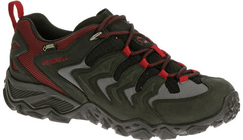 Merrell Men's Chameleon Shift Ventilator Hiking Shoes Black/Red