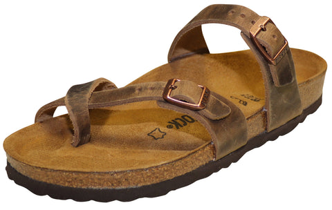 Birkenstock Mayari, Tobacco Brown, Oiled Leather