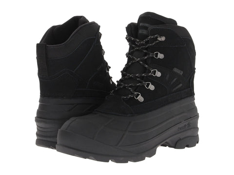Kamik Men's Fargo Snow Boots Black