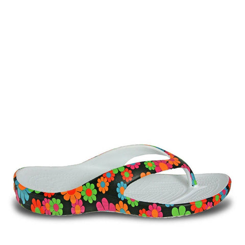 Dawgs WOMEN'S LOUDMOUTH Flip Flop SANDALS Magic Bus