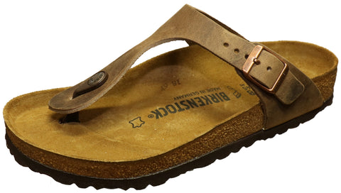 1a05b1c2c76f Birkenstock Gizeh Oiled Leather Tobacco – Byward Centre