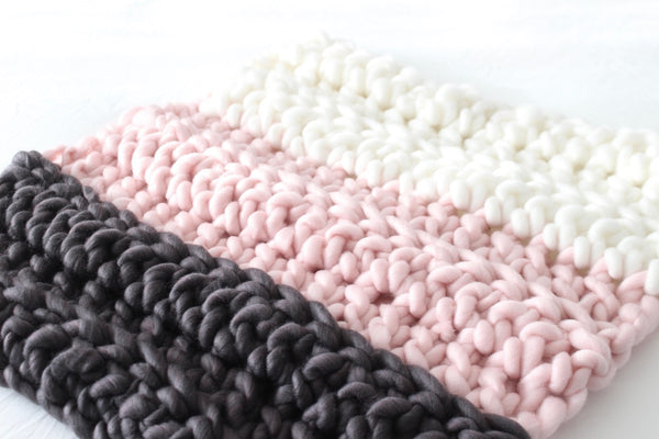 "The Little Mini Luxe Blanket 25""x25"" SOLID COLORS"