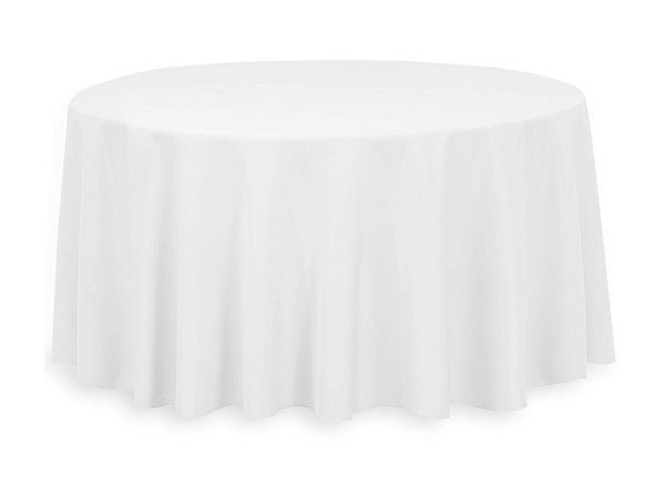 "Premium Round 120"" Tablecloth"