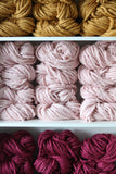 Top Knot Style Luxe Roving Yarn - Vegan & Wool Free
