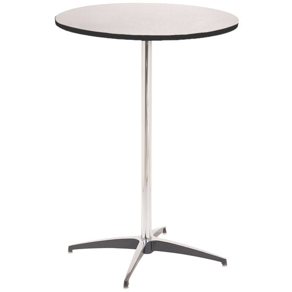 "Cocktail Table 30"" Round 42"" Tall"