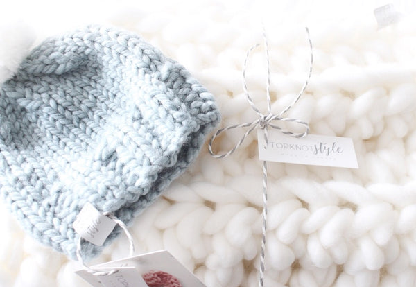 Gift Set - Little MINI Blanket & Baby Toque