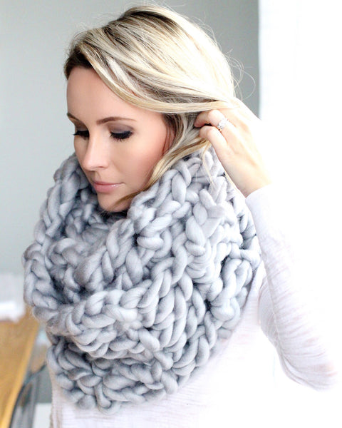 The Luxe Infinity Blanket Scarf
