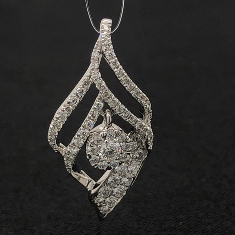 Chic Cocktail Diamond Pendant