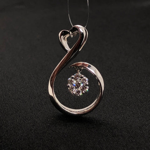 18K Musical Diamond Pendant