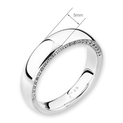 WEDDING BAND FOR 'HIM' - H04573M