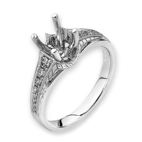 Semi-Mount Engagement Ring L01380R