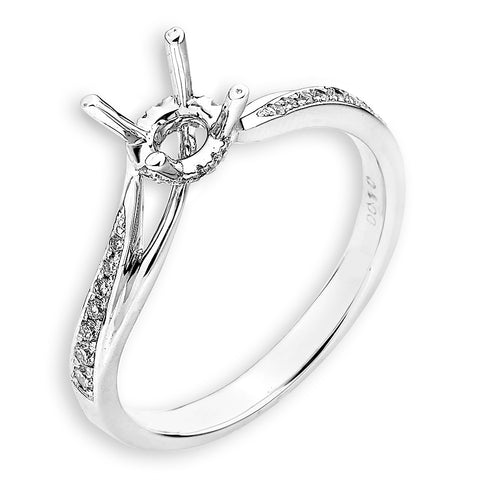 Semi-Mount Engagement Ring N02778R
