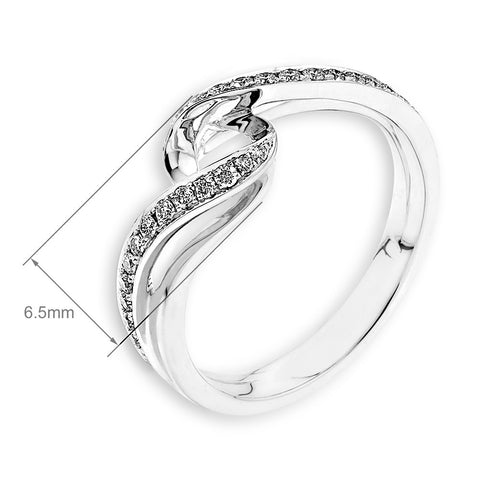 Semi-Mount Evening Ring N02875R