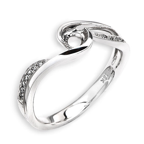 Semi-Mount Casual Diamond Ring N02878R