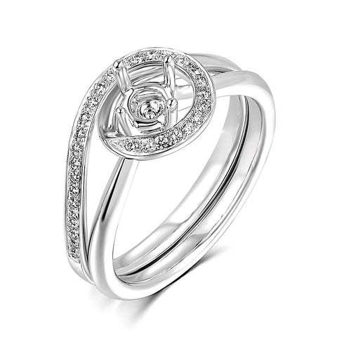Semi-Mount Evening Diamond Ring N03584S