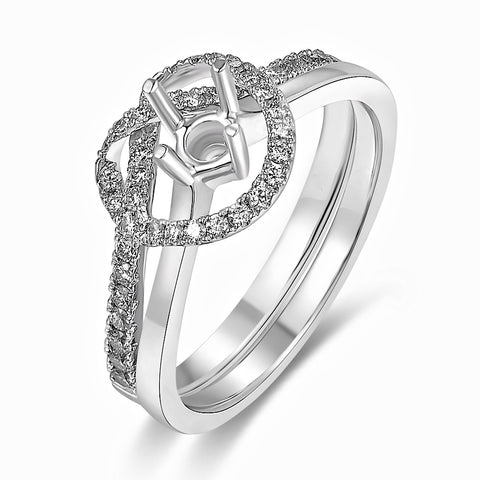 Semi-Mount Evening Diamond Ring N03602S