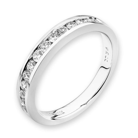 SINGLE ROW DIAMOND RING -P10325R