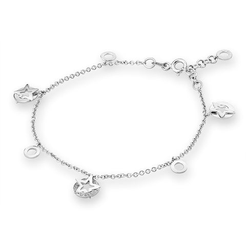 DIAMOND STAR BRACELET - S04598B