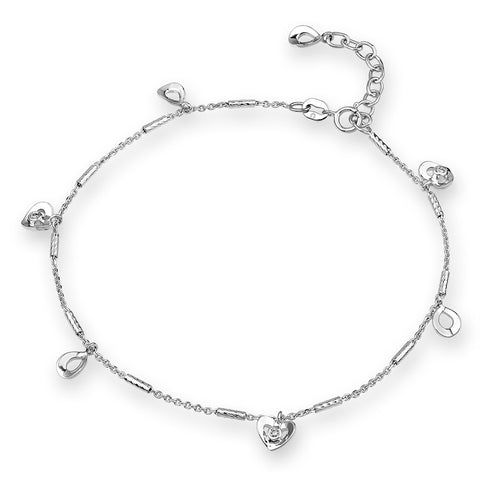 SIMPLE DIAMOND BRACELET - S04599B