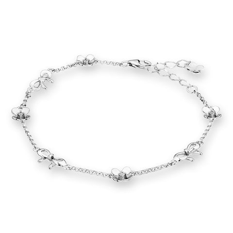 DIAMOND RIBBON BRACELET - S04861B