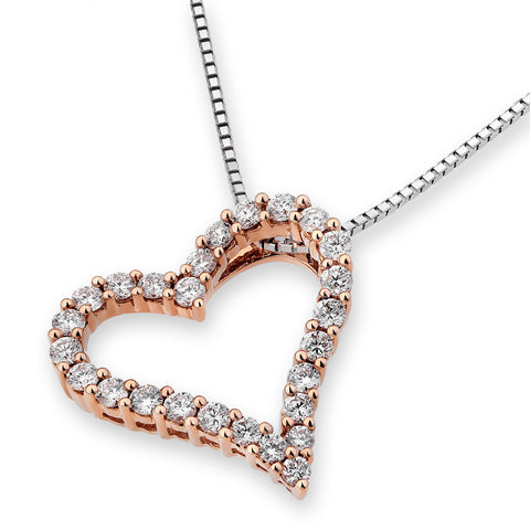 SIMPLE ETERNITY HEART PENDANT - S06179P