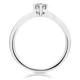 SIMPLE LADIES DIAMOND RING - F06679R