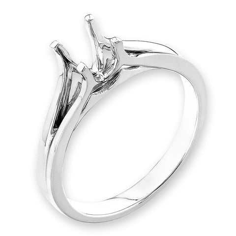 Solitaire Semi-Mount Ring F06457R