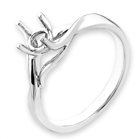 Solitaire Semi-Mount Ring F06459R