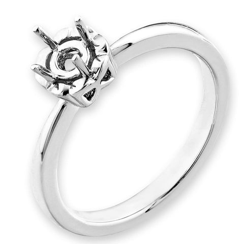 Solitaire Semi-Mount Ring F06471R