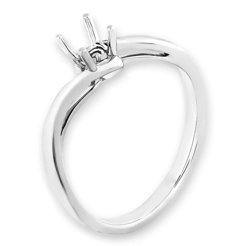 Solitaire Semi-Mount Ring F06823R