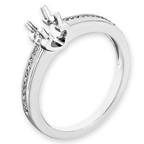 Semi-Mount Simple Engagement Ring L02183R